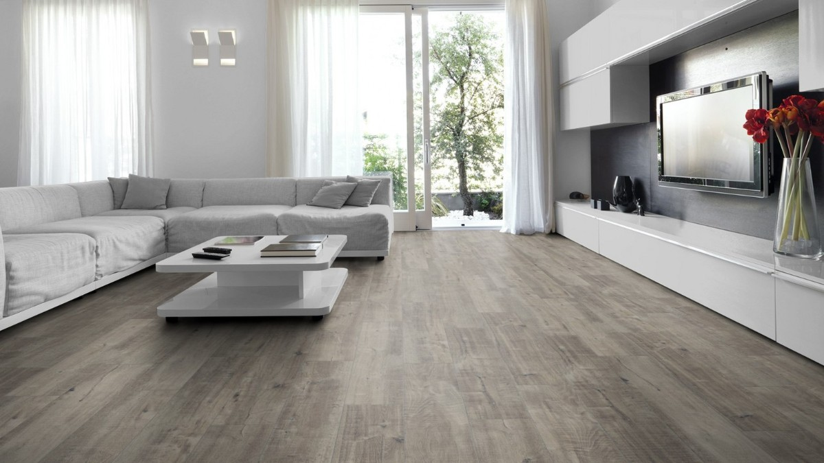 как выбрать линолеум в квартиру серый пол на фоне светлых стен