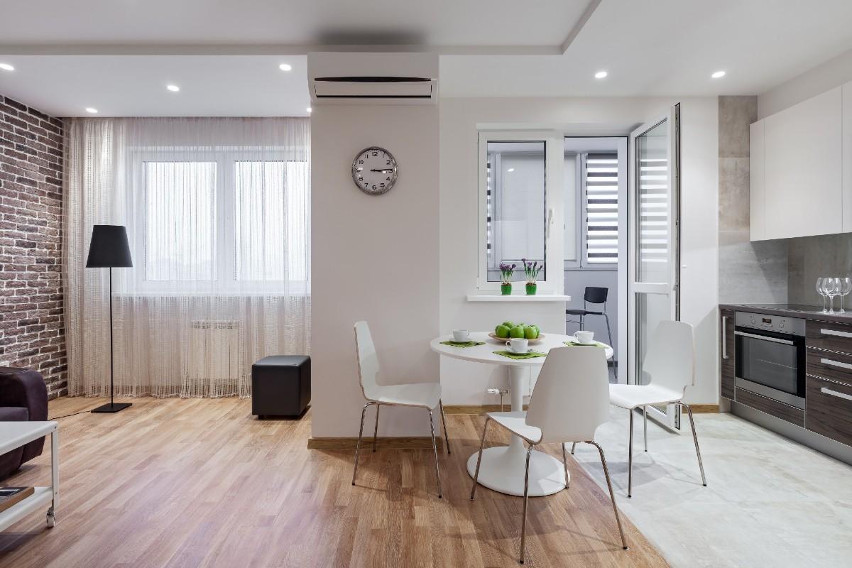 как выбрать линолеум в квартиру со свободной планировкой