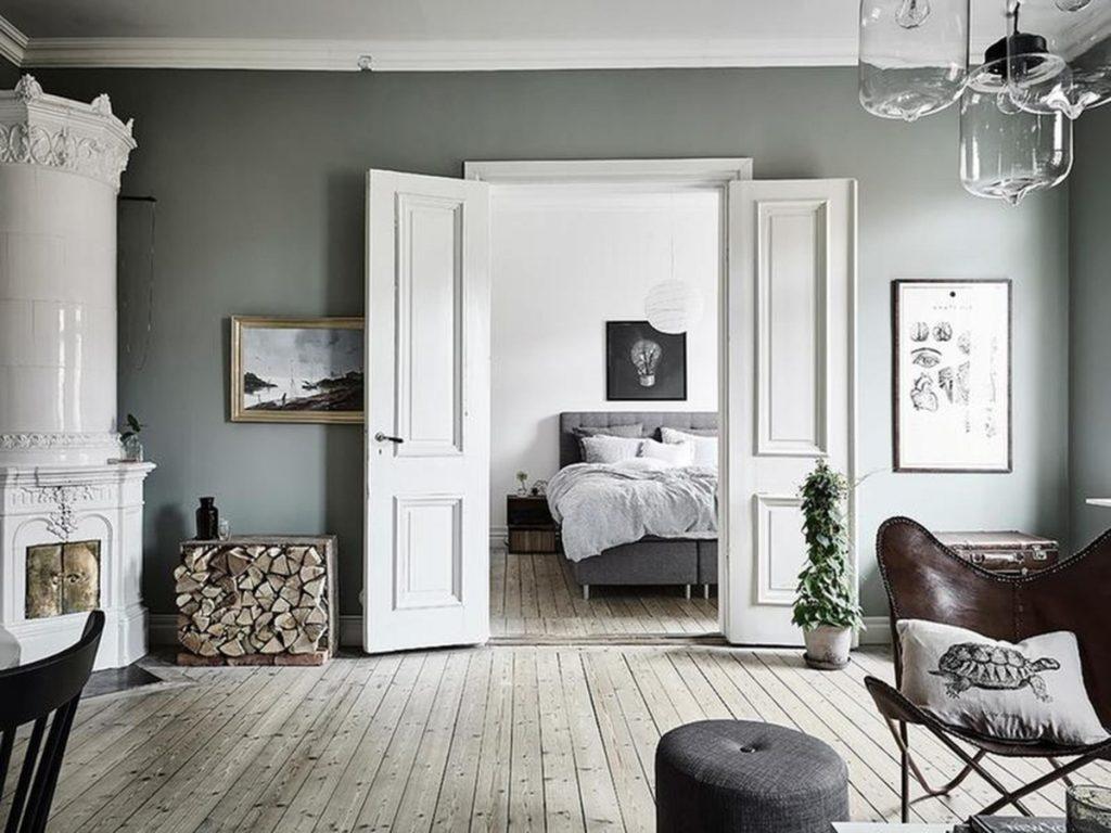 как выбрать линолеум в квартиру в гостиную в скандинавском стиле