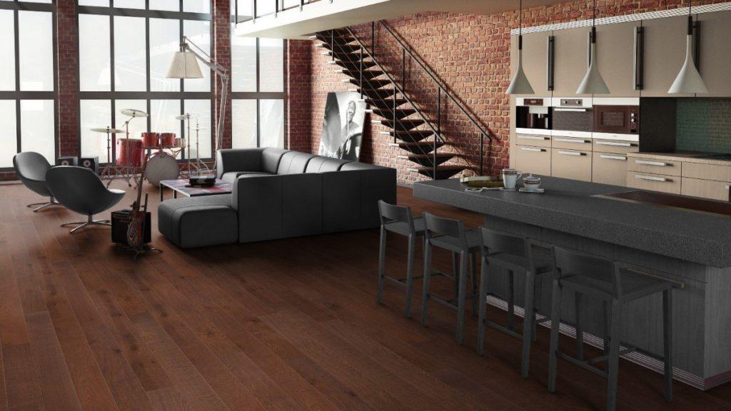 как выбрать линолеум в квартиру в индустриальном стиле