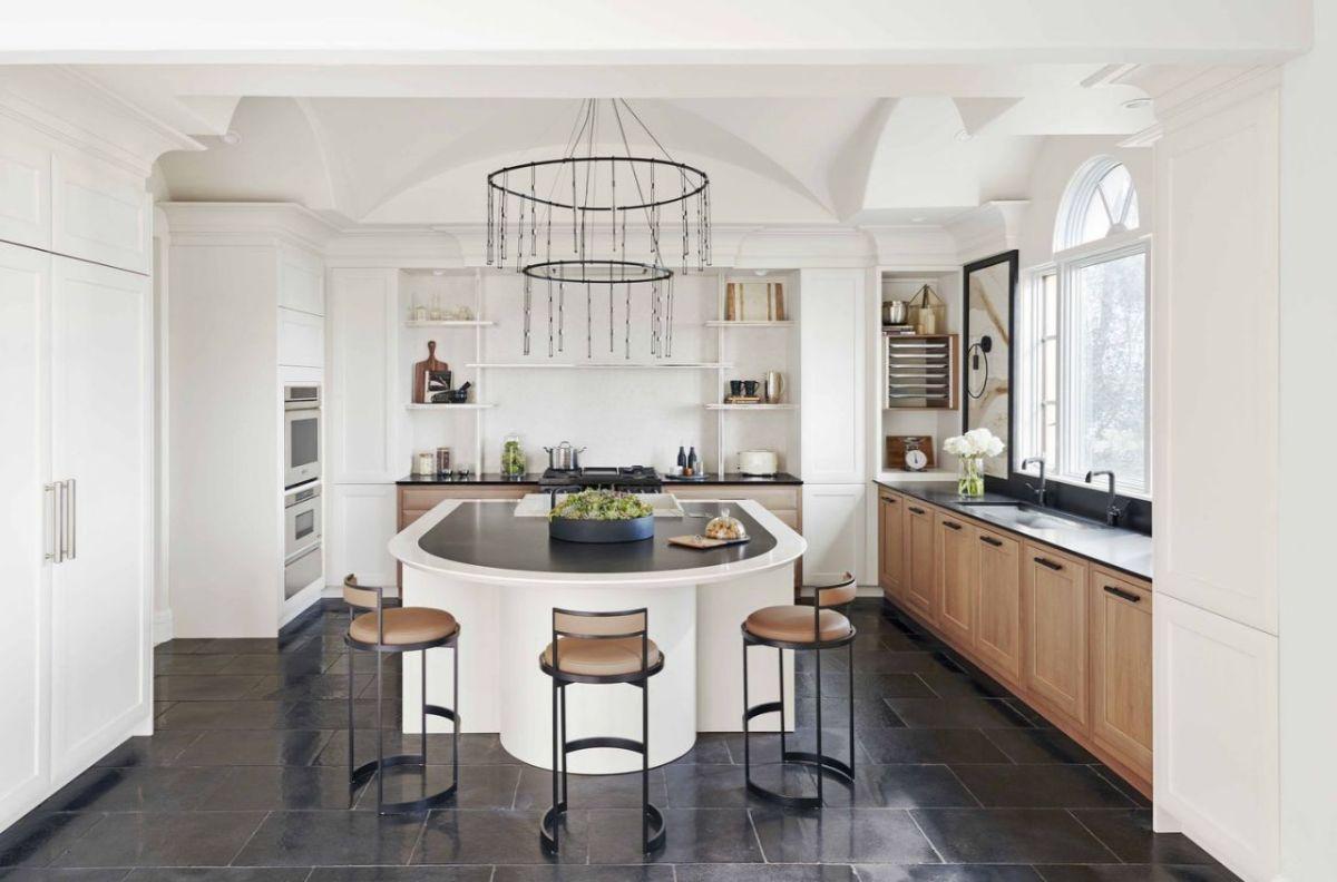 кухня в стиле неоклассика интерьер на фото