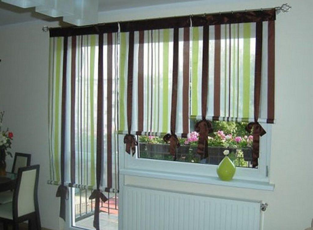 новинки штор для кухни фото