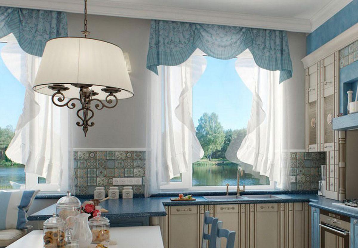шторы на кухню современные новинки
