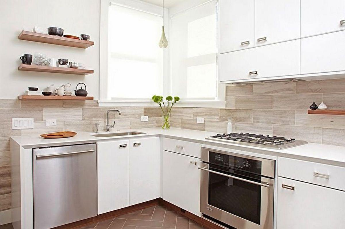 угловая кухня 6 кв м дизайн фото пример