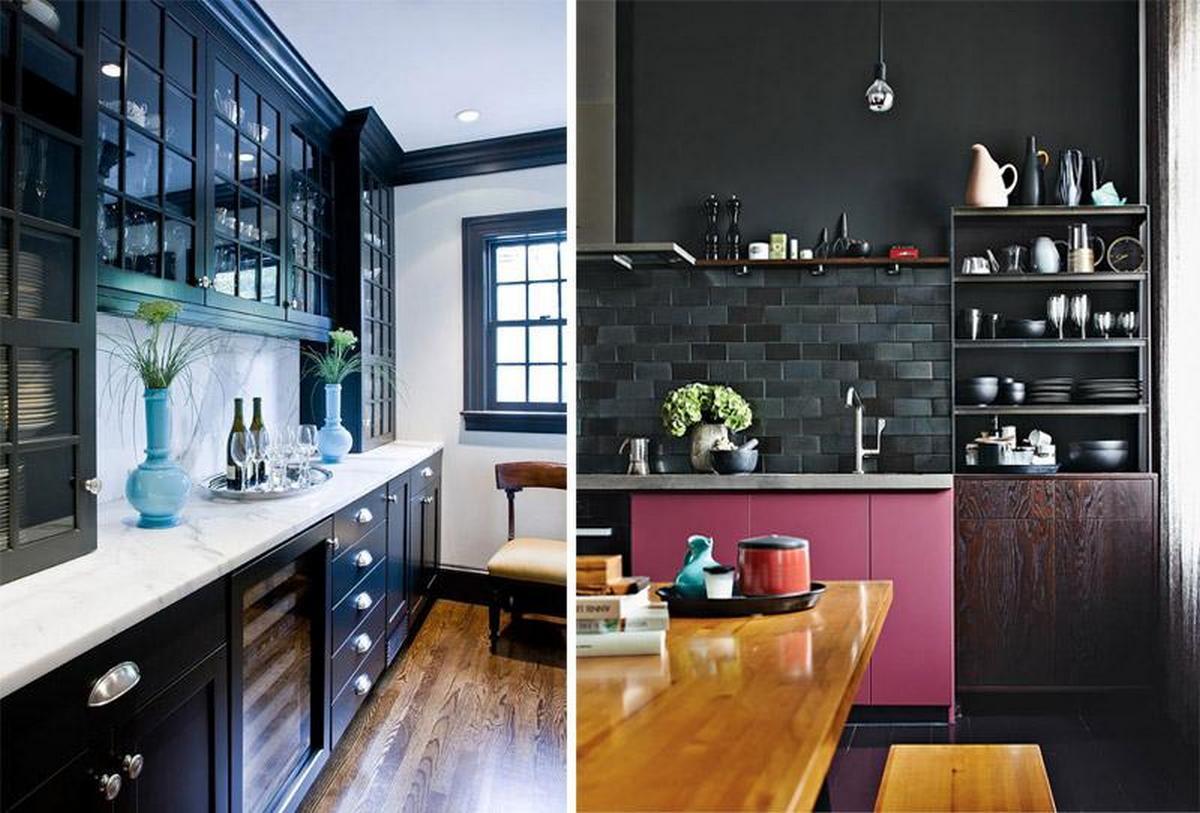 чёрные кухни в кухни