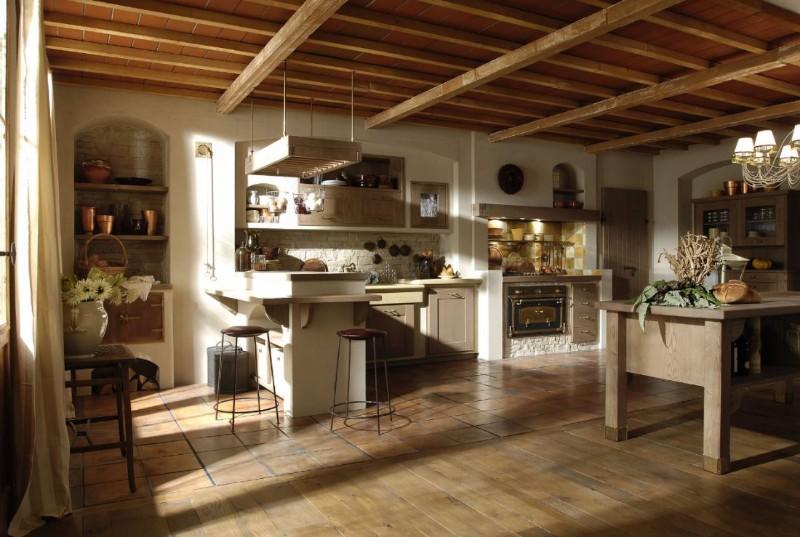 деревянный пол в интальянском стиле