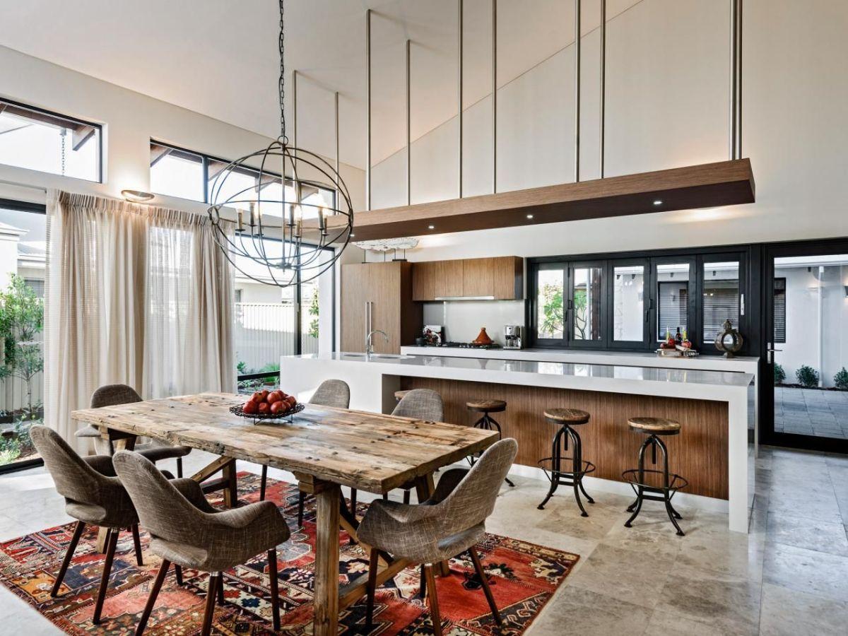 дизайн интерьеров кухни гостиной концепция открытой планировки