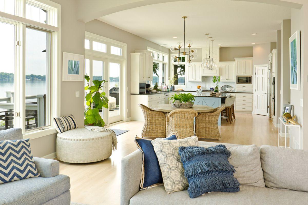 дизайн интерьеров кухни гостиной современные идеи