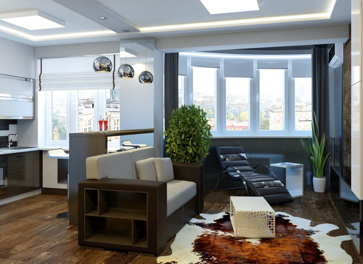 интерьер маленькой квартиры дизайн с эркером