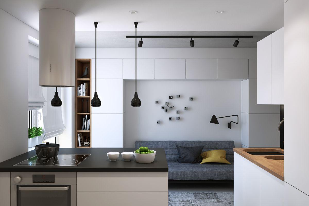 интерьер маленькой квартиры оригинальный дизайн