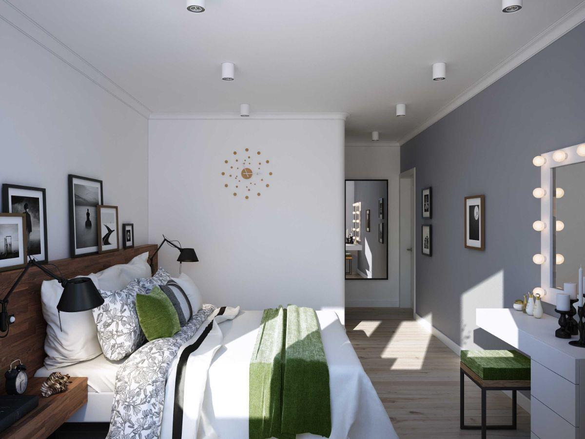 интерьер маленькой квартиры студии спальня
