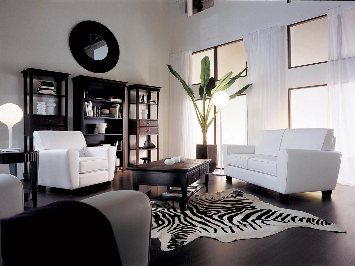 изысканный декор квартиры в чёрном цвете