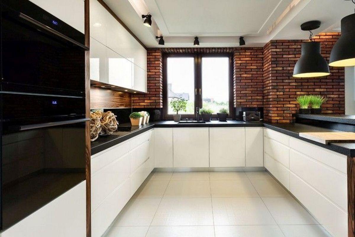 цвет кухни чёрный