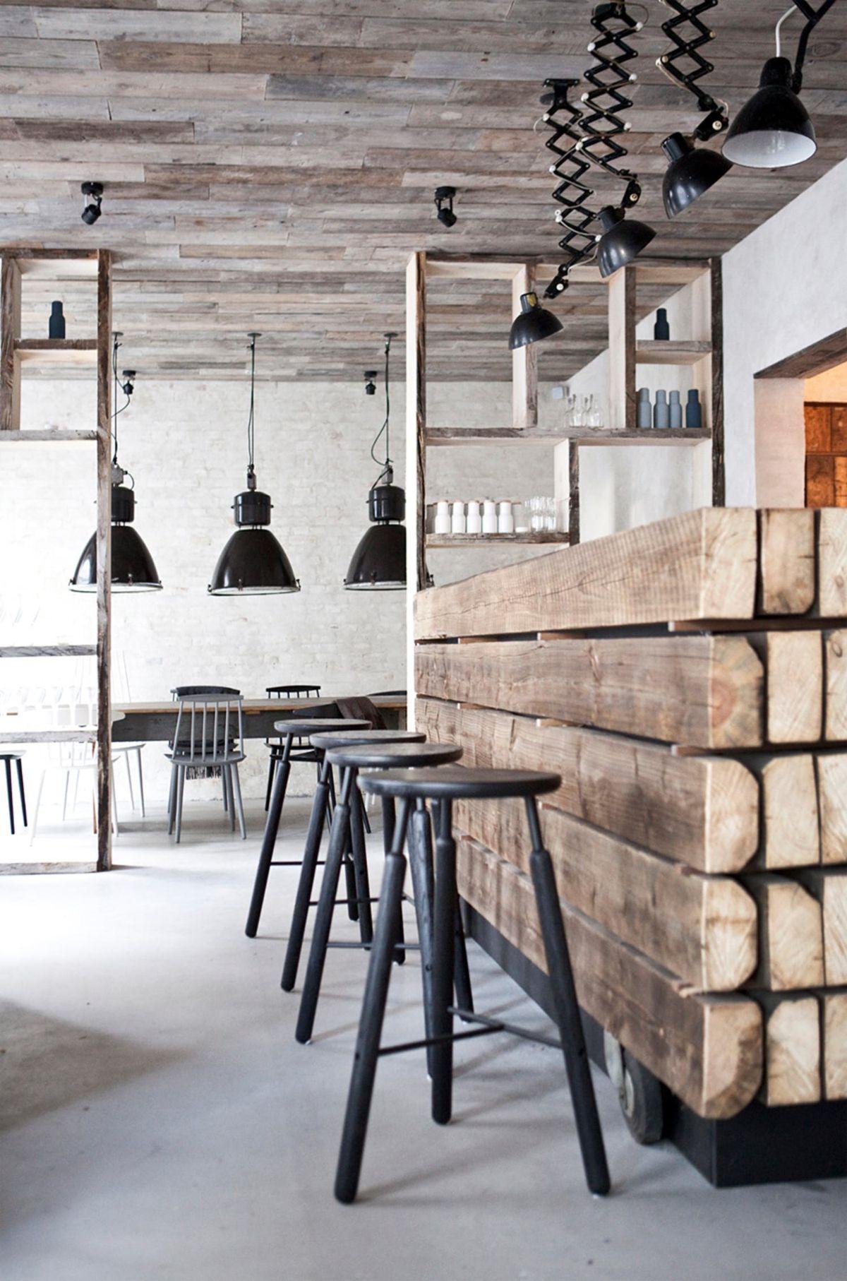кухня гостиная пример нетривиального дизайна интерьера
