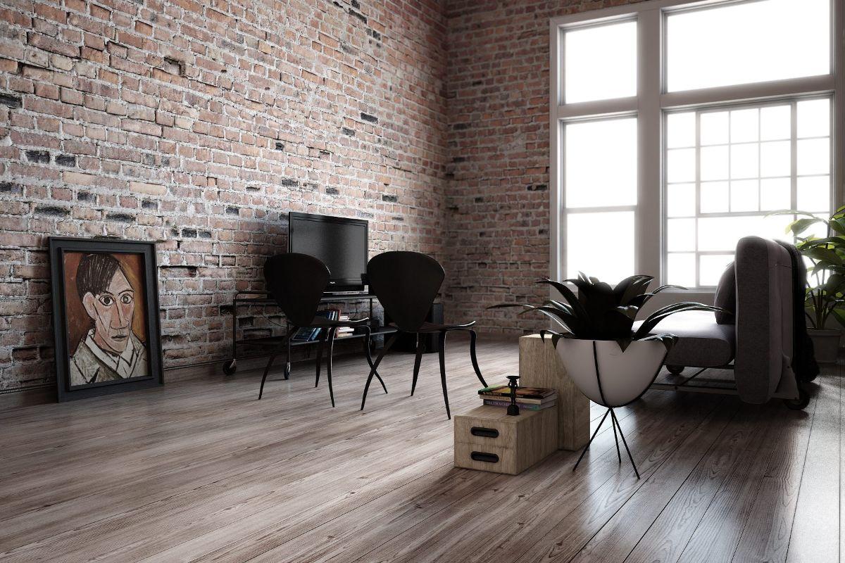 минималистический дизайн в стиле лофт в квартире