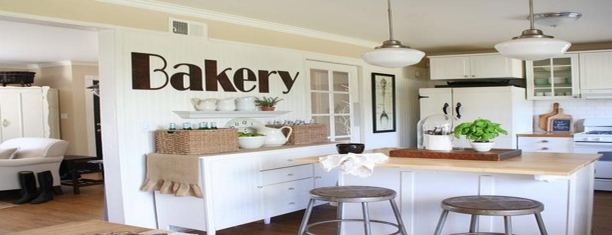 стиль шебби шик в дизайне кухни