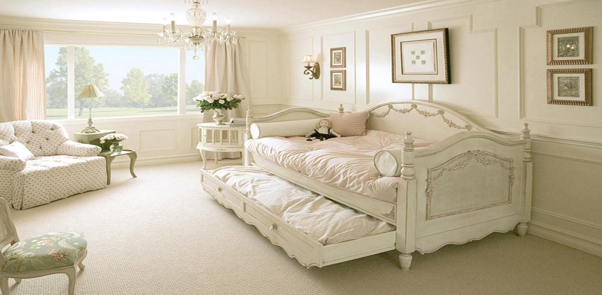 стиль шебби шик в интерьере спальни