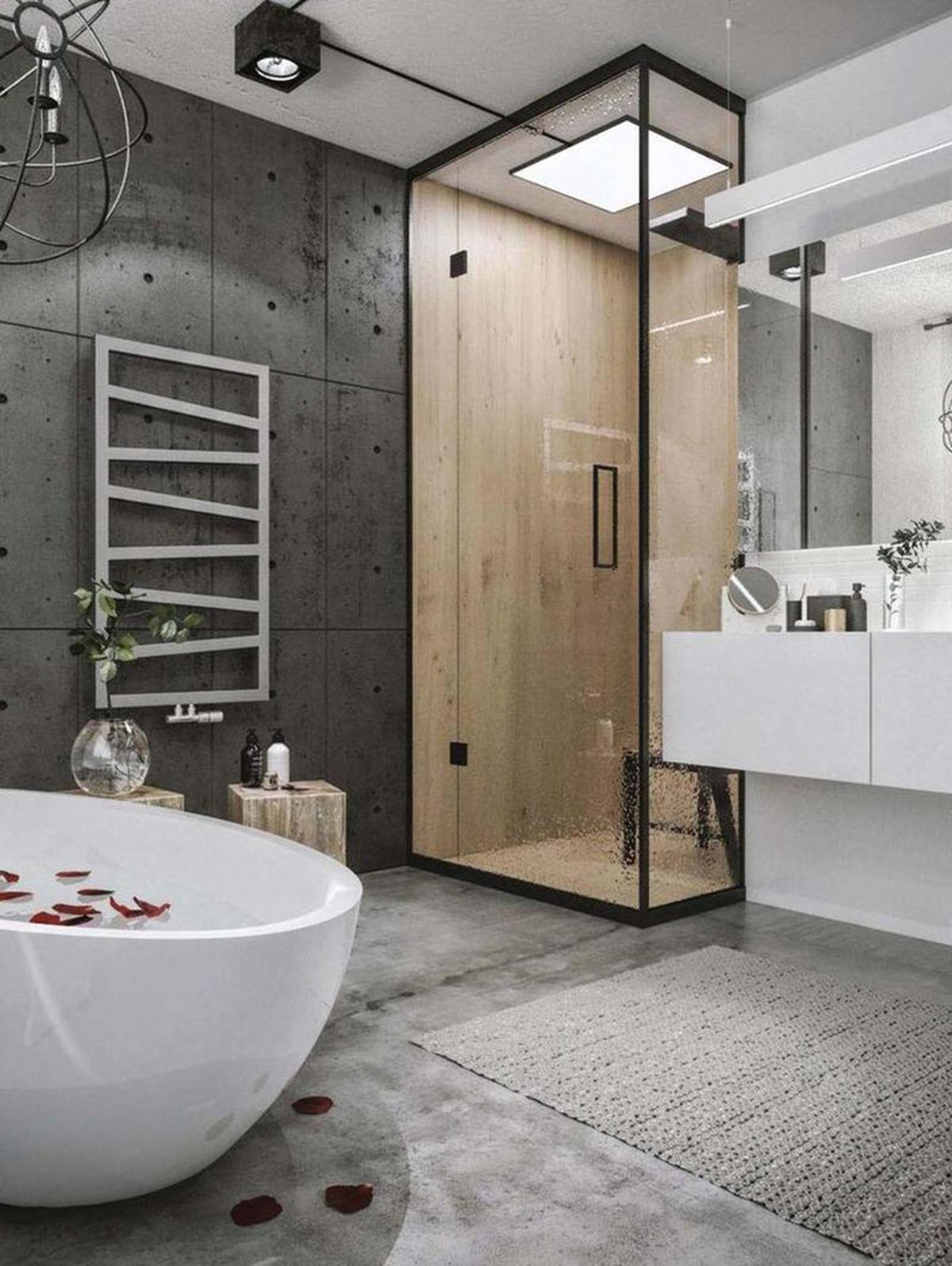 ванная дизайн в стиле лофт