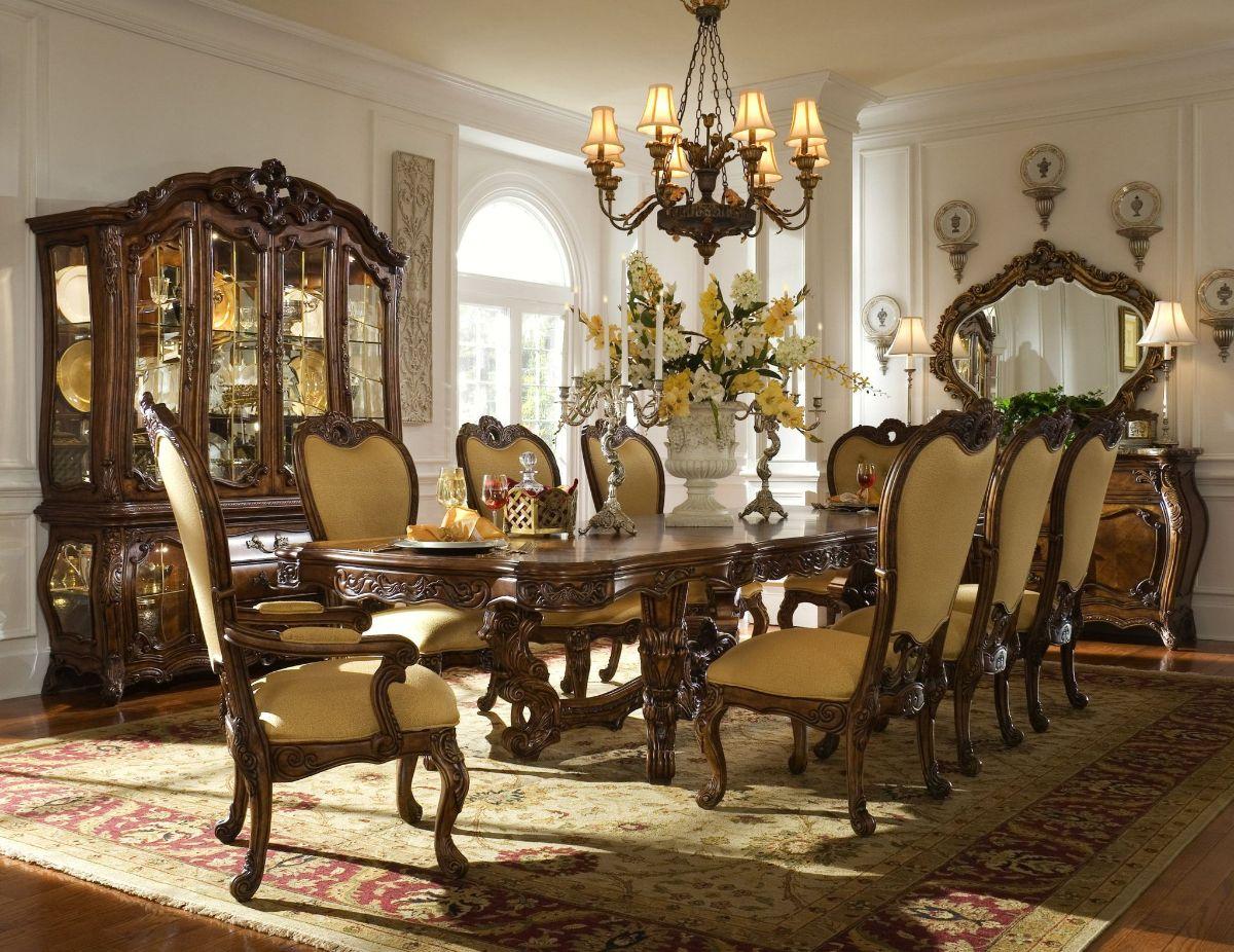 винтаж в интерьере дома богатый дизайн столовой