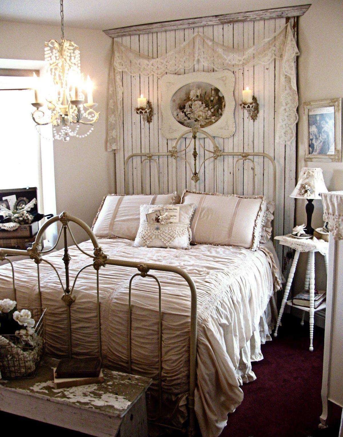 винтаж в интерьере дома декор спальни