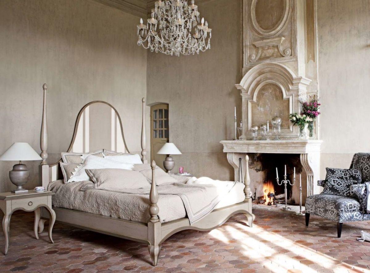 винтаж в интерьере дома эффектная спальня