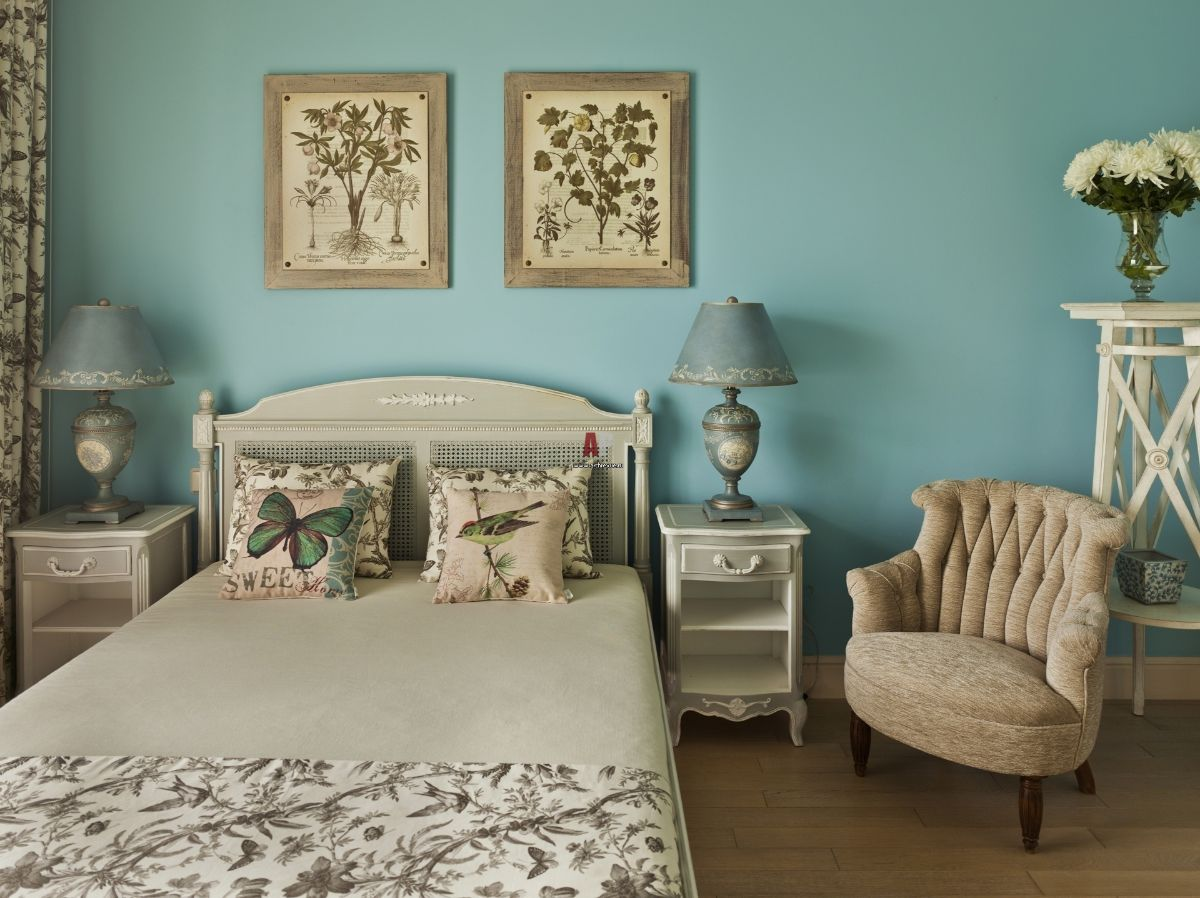 винтаж в интерьере дома милый декор спальни