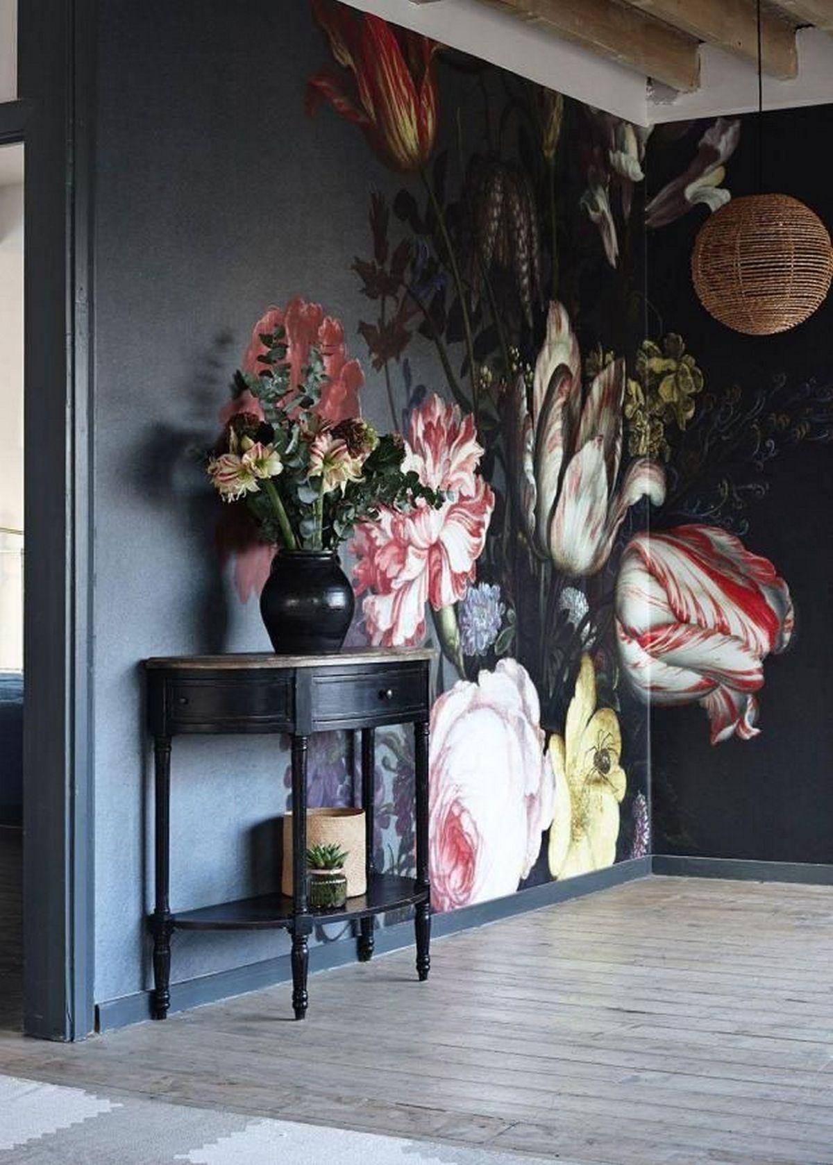 дизайн стен в гостиной на фото