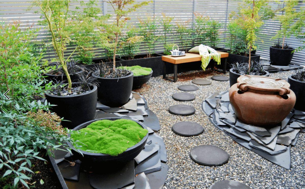дизайн небольшого садового участка