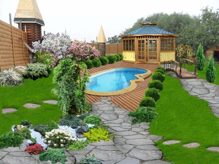 дизайн садового участка свежие идеи для оформления