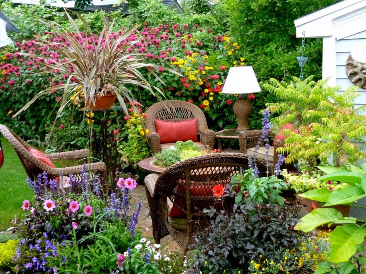 дизайн садового участка свежие идеи