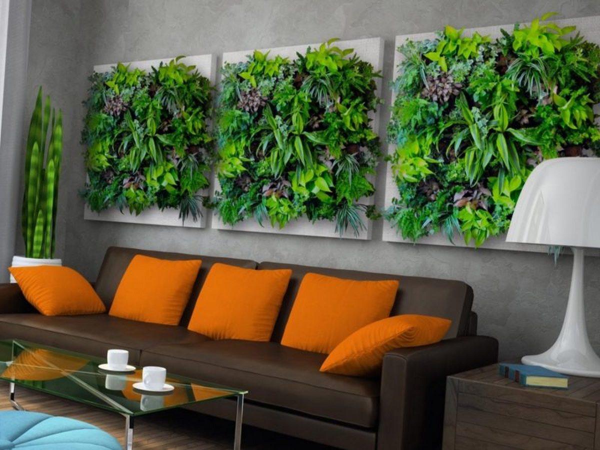 дизайн стен озеленение