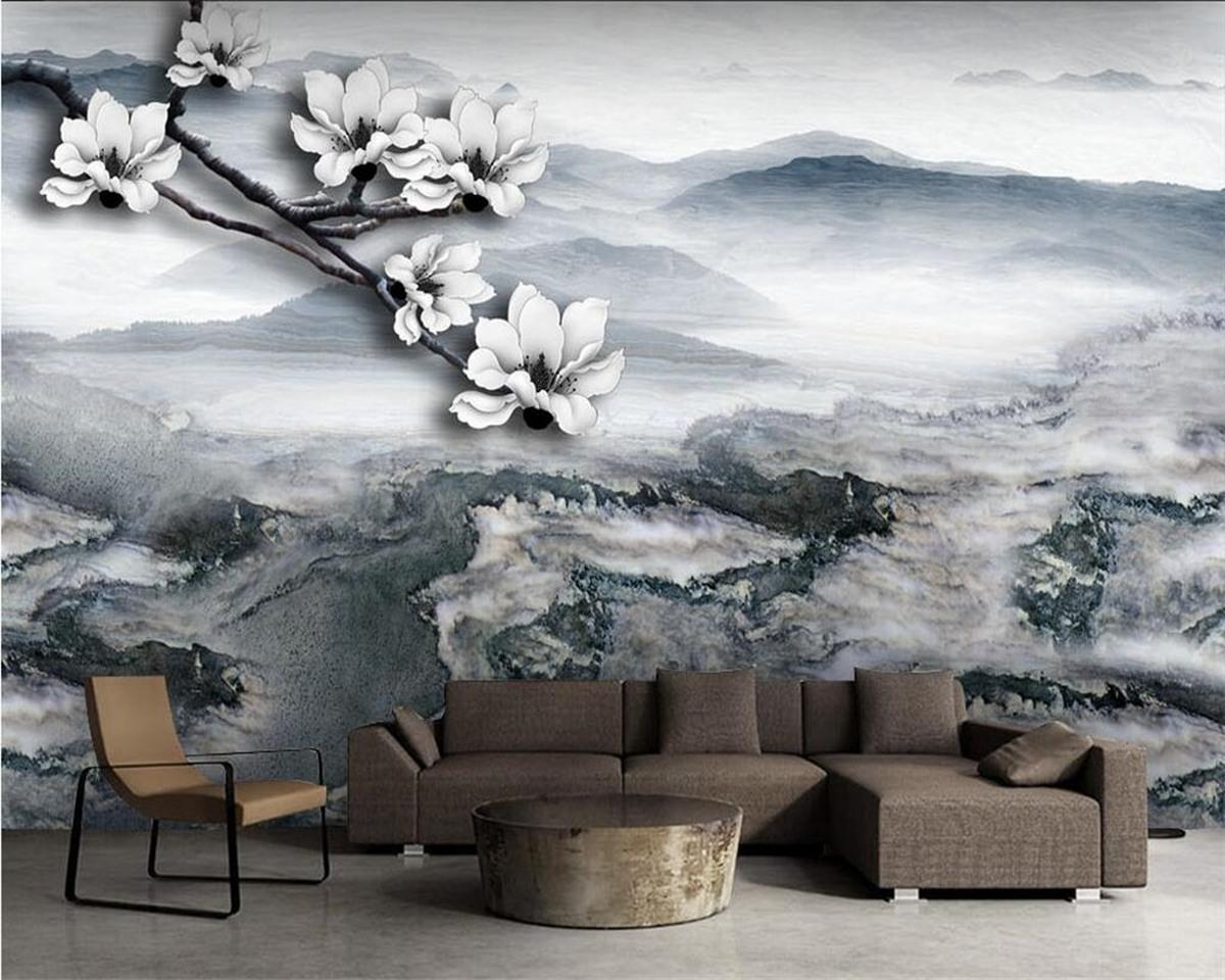идеи дизайна стен в гостиной фото