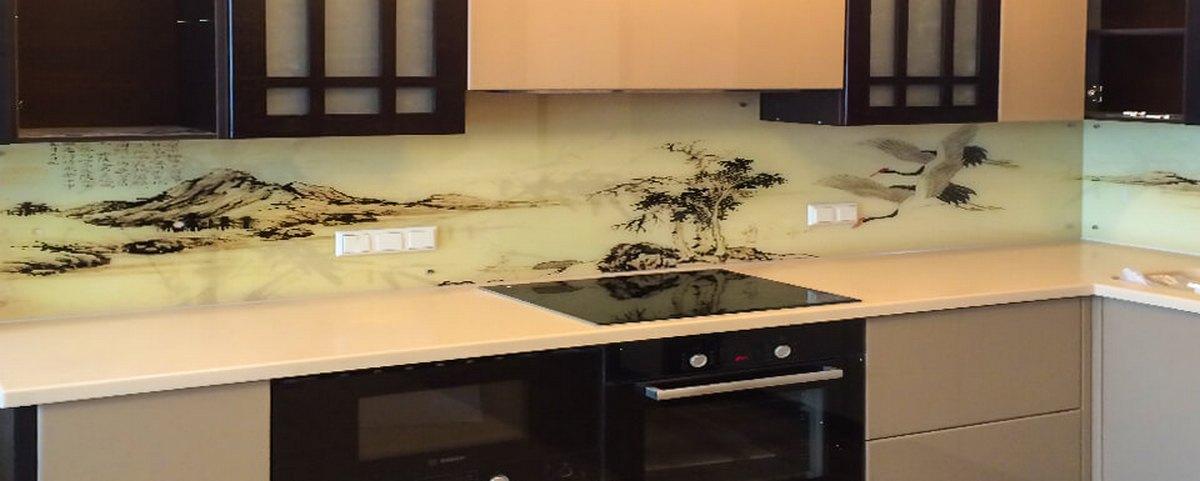 интерьер кухни в японском стиле фото пример