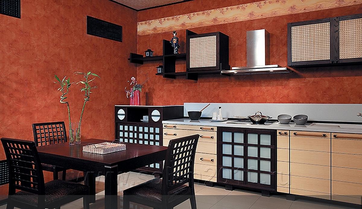 кухня в японском стиле красивый дизайн на фото