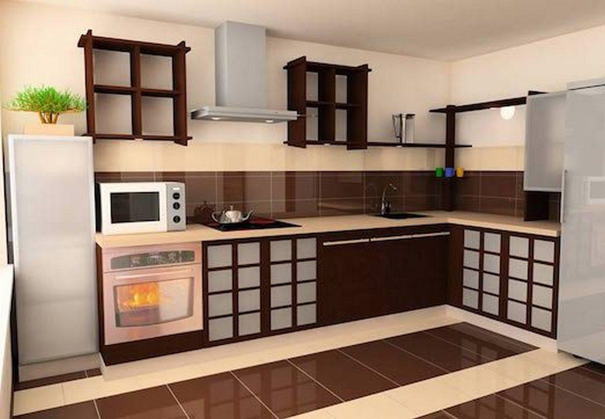кухня в японском стиле красивый дизайн