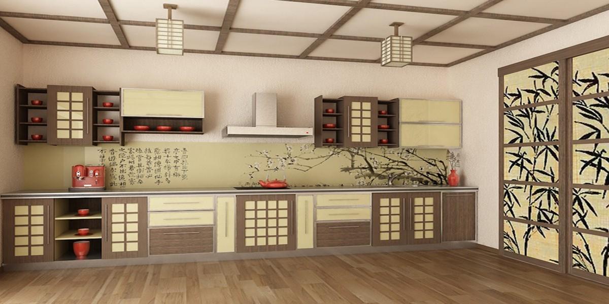 кухня в японском стиле купить