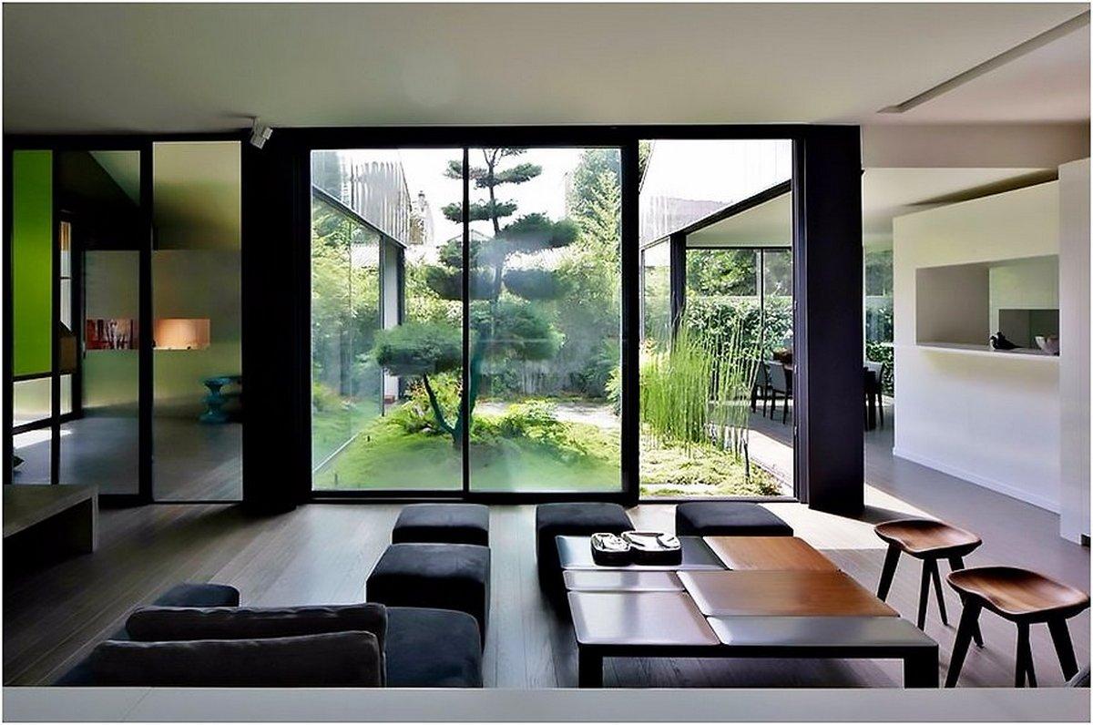 кухня в японском стиле удачный дизайн