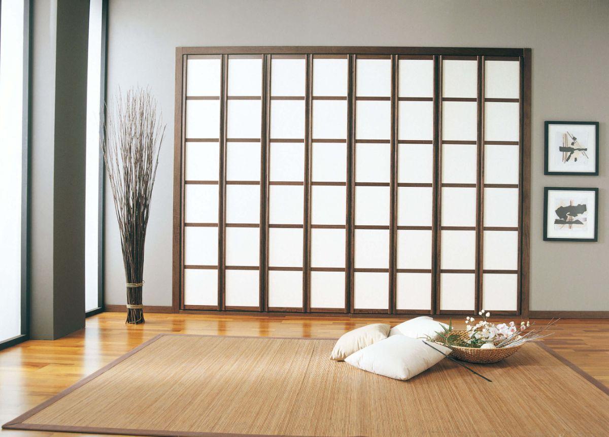 лаконичный интерьер в японском стиле ничего лишнего