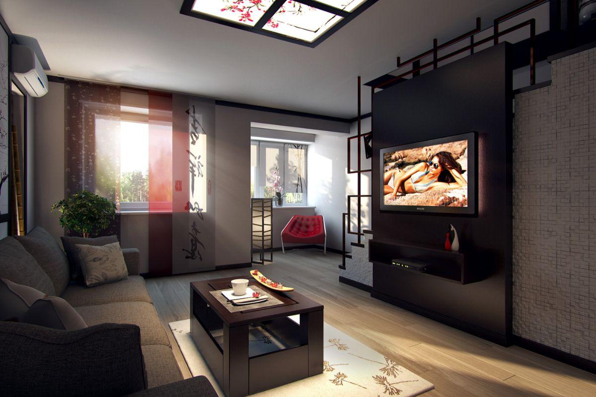 японский стиль для квартиры
