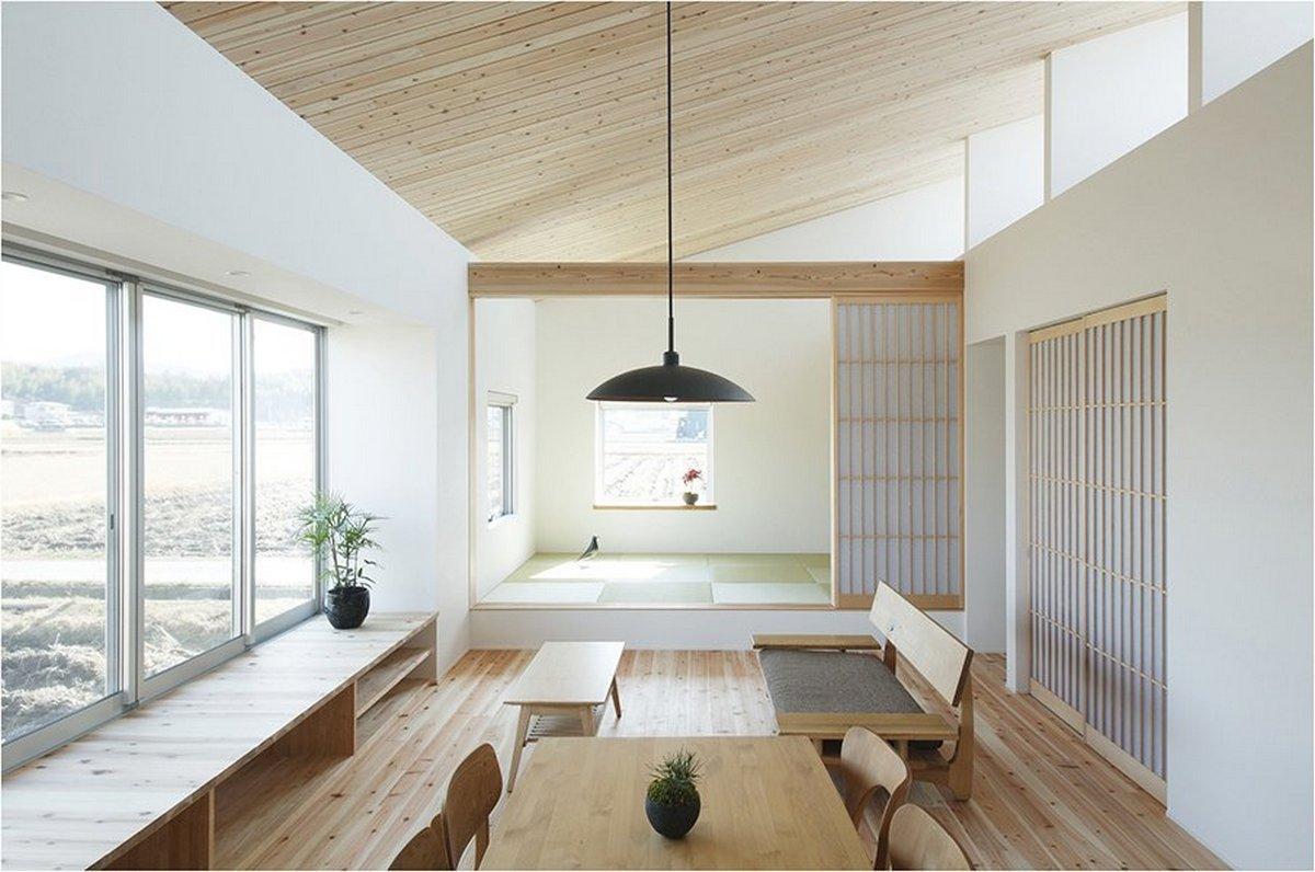 японский стиль в интерьере стильной кухни