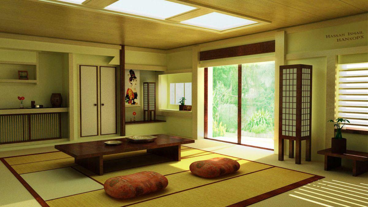 японский стиль в минималистическом исполнении