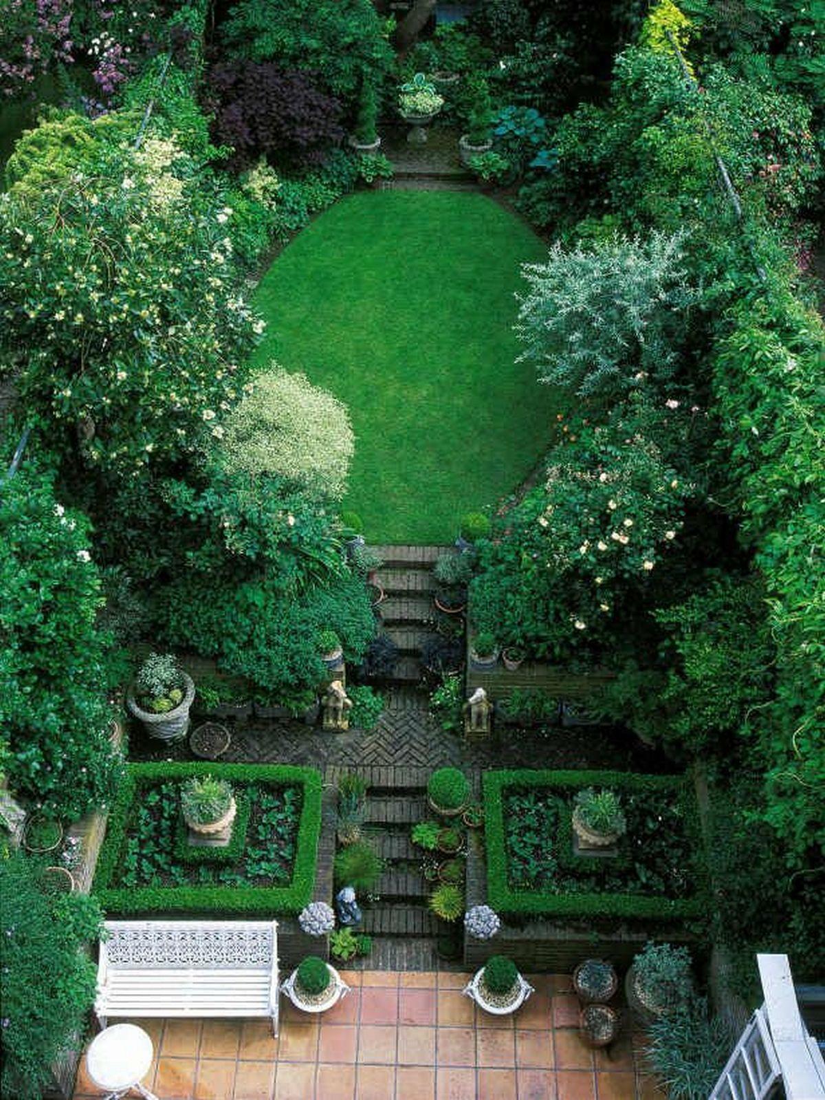 ландшафтный дизайн садового участка фото пример