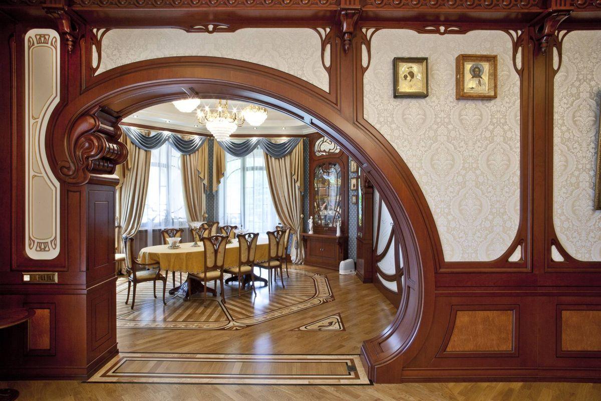 дизайн интерьера просторной гостиной стиль модерн