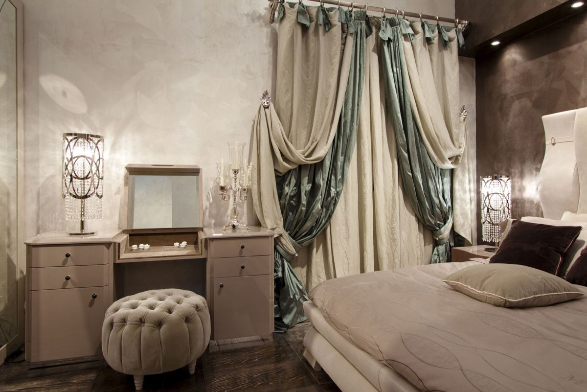 дизайн спальни интерьер в стиле модерн