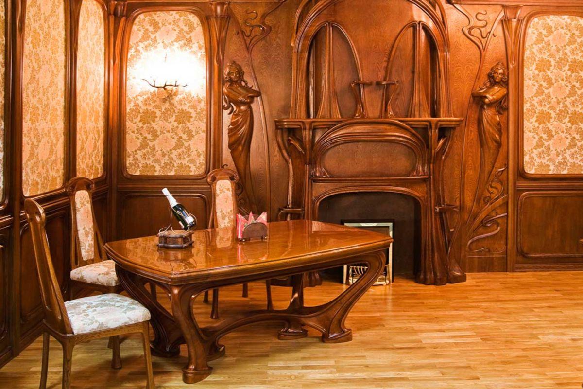 дорогой интерьер гостиной в стиле модерн