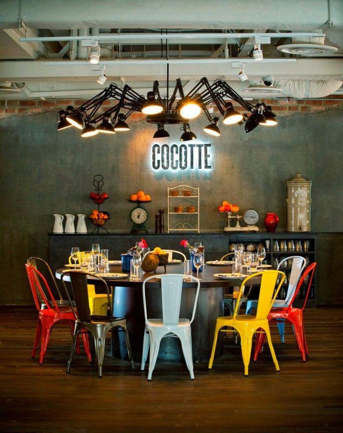 индустриальный стиль в интерьере дизайн кухонной мебели
