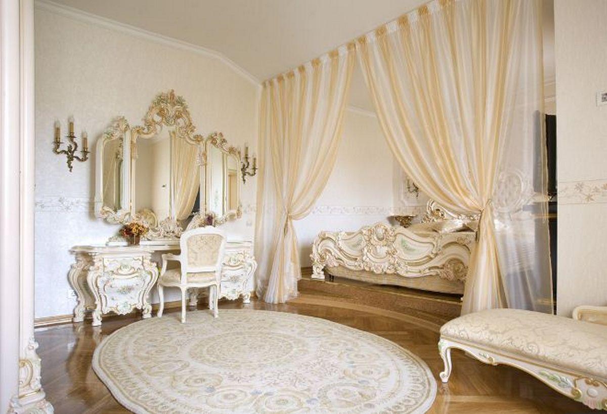 интерьер комнаты в стиле барокко