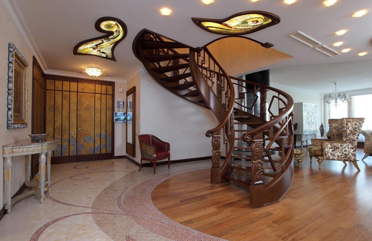 интерьер в стиле модерн в доме