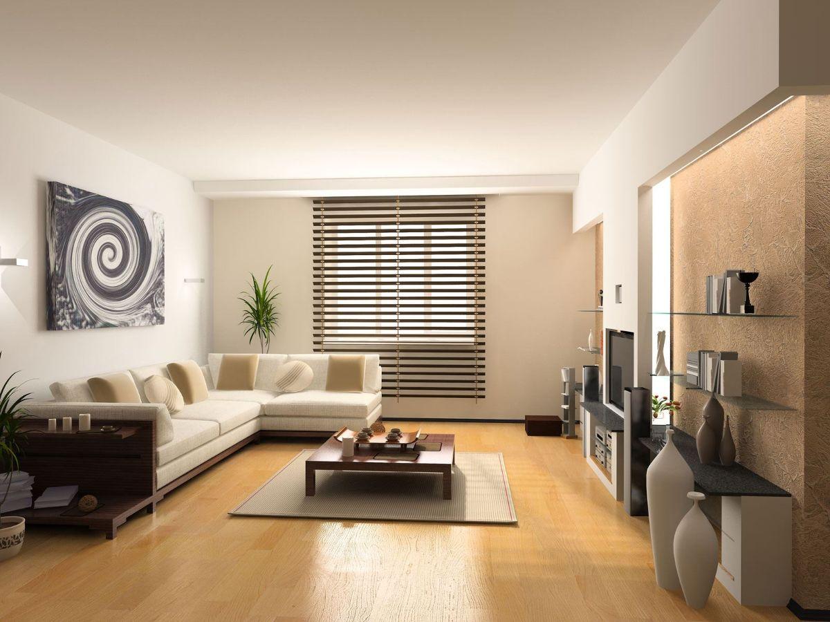 интерьер в стиле модерн в светлой цветовой гамме
