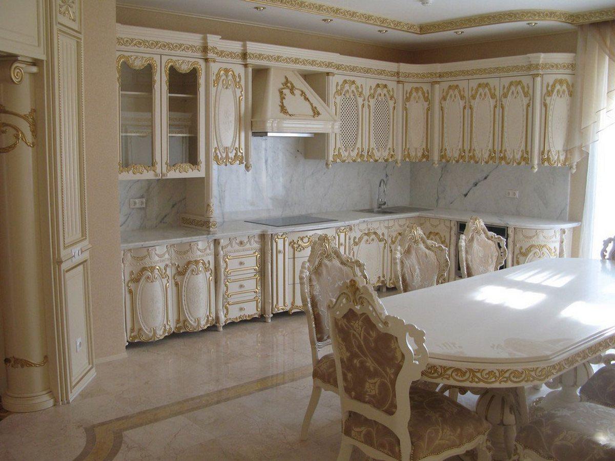 кухня в барочном стиле